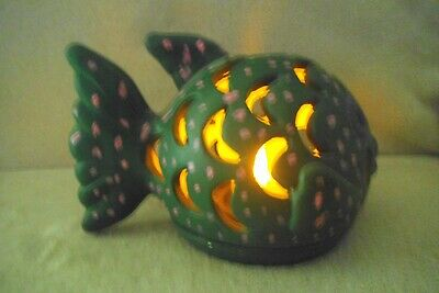 fish candle - battery operated candle