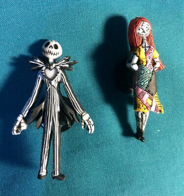 Jack Skellington & Sally Nightmare Before Croc Hole Accessories Shoe Charm