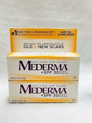 2 Mederma Scar Cream Spf 30 Sunscreen 0 70 Oz 20 G Each Exp 01 2020 19 99 Picclick