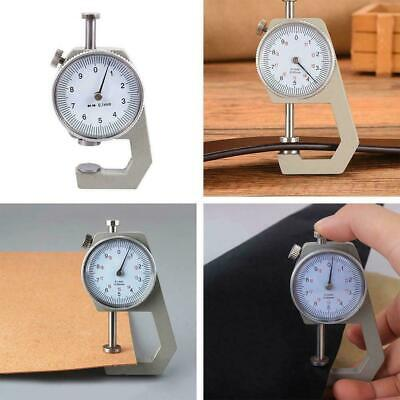Mini Portable Thickness Gauge Leather Craft Tester Tools New Measure W9L7