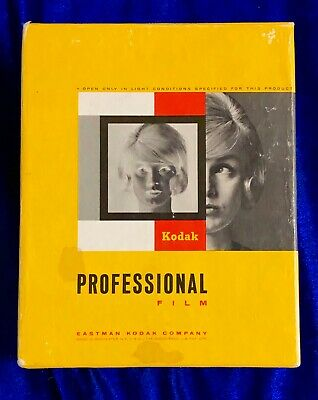 """Kodak Professional Film Sealed Box of 100 5"""" x 7"""" Expired Date Exactly Unknown"""