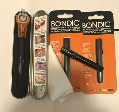 Bondic Pro Kit All Purpose Comes W/4 Cartridges Total & Microfiber cloth