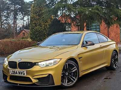 2014 Bmw M4 3.0 Dct Austin Yellow **Carbon Fibre**Cheapest In Country**Bargain