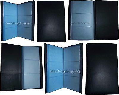 Lot of 6 new 60 to 120 business card case credit card IDs mini photos holder NWT