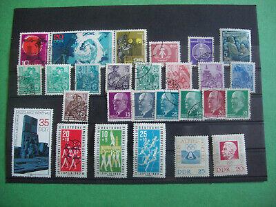 GERMAN DEMOCRATIC REPUBLIC -DDR    GOOD  LOT STAMPS 1960s  USED