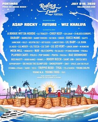 Rolling Loud 2020 Portugal 3-Day Ticket