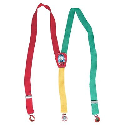 Thomas The Tank Engine Britt Allcroft 1989 Kids Suspenders Multi-Coloured
