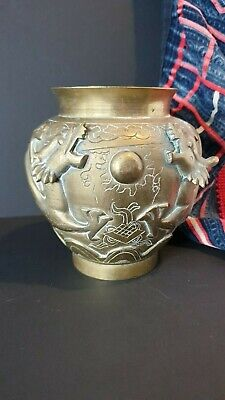 Old Chinese Bronze / Brass Pot / Planter …beautiful collection & display piece