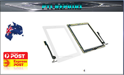 ipad 2 3 4 digitizer Black, White Touch Screen Replacement AU STOCK