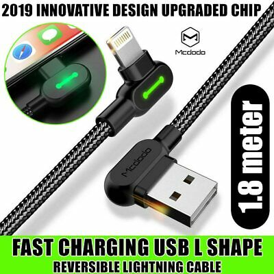 Mcdodo USB Lightning Charging Charger Cable Data Cord For iPhone XS MAX XR X 8 7