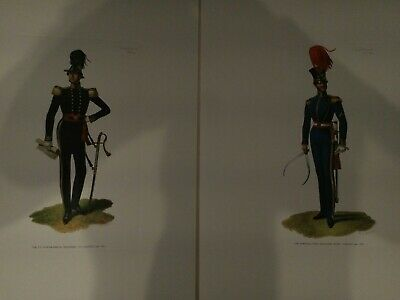 12 Barbosa Ltd Edition Lithographs - Figures in 18th/19th C Military Uniforms