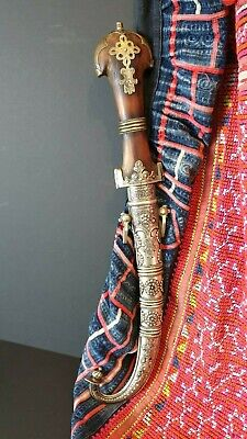 Old Bedouin Arab Sword Jambiya Khanjar Dagger Knife …beautiful collection and di