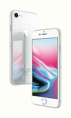 New *Sealed*Apple iPhone 8 Unlocked Smartphone/Silver/64GB/GLOBAL UNLOCKED