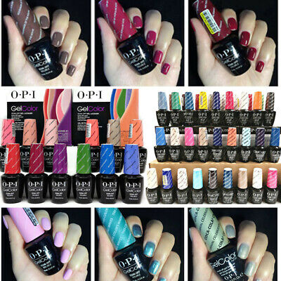 15ml  [OPI GELCOLOR]Soak Off Gel Nail Polish 240 COLORS-CHOOSE YOUE SHADES
