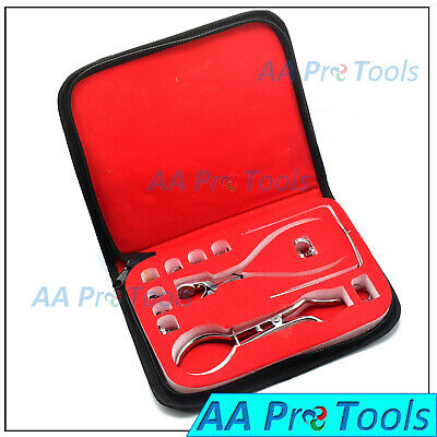 12x Starter Set rubber dam punch pliers Ainsworth Brewer Clamp Frame Kit
