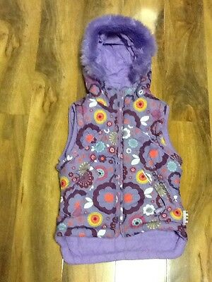 Weatherproof Girls Reversible Body Warmer Size L
