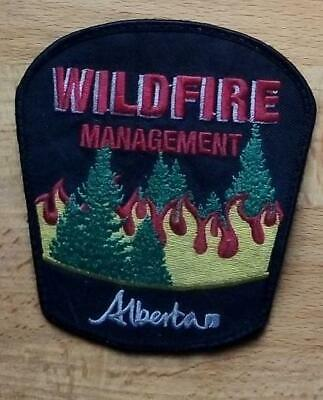 Canada Alberta Patch Fire Wildfire Management