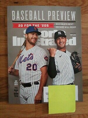 Sports Illustrated Spring 2020  Baseball 2020 Preview Alonso Torres New!