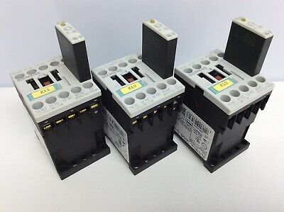 Siemens Sirius 22e Contactor Relays Lot Of 3