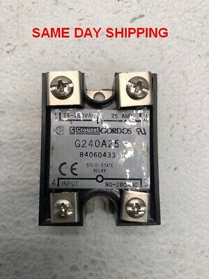 Crouzet Solid State Relay G240A25 Item 747712-G3