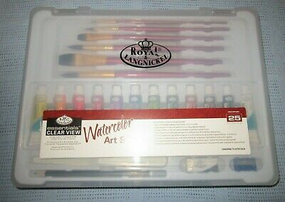 Royal & LangNickel Essentials Clear View Watercolor Set - 25 piece SET