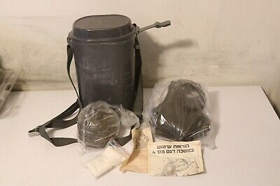 German M65 Drager Gas Mask Military W/Case New in Wrap. Unissued