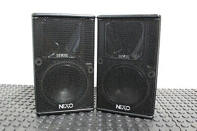 Pair of NEXO PS 8U Speakers Great Condition Hard To Find Made in France FREE S&H