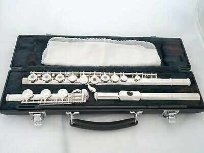 Yamaha YFL-361H Intermediate Flute Silver Head Low-B *Made in Japan *New Pads