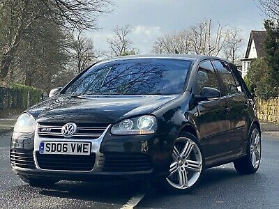 "2006 06 Vw Golf R32 3.2 V6 Mk5 *19""Talladega Wheels*Leather*Low Miles Fsh Px"