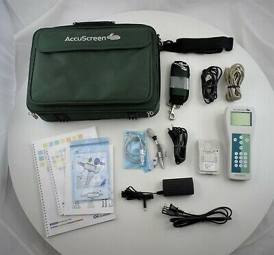 Madsen AccuScreen Pro Hearing Screener Audiometer w/ Accessories - Untested