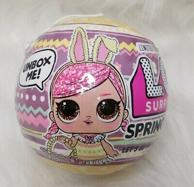 Lol Surprise Spring Bling~In Hand~New Factory Sealed~LOL Surprise Doll~Easter