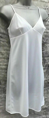 BHS White Full Slip Petticoat Size 20 Just Above Knee Length Brand New With Tags