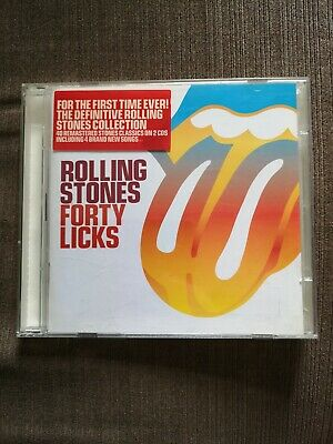 The Rolling Stones - Forty Licks (2002) 2 CD Greatest Hits Best of
