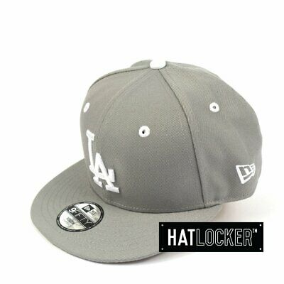 New Era - LA Dodgers Grey Wheat Youth Snapback