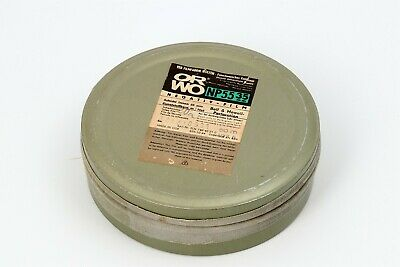 ORWO NP55 35mm REFRIGERATED Unopened canister 60m/197ft