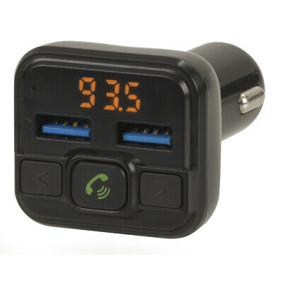 Wireless Bluetooth Car Kit FM Transmitter Radio MP3 Player USB Charger