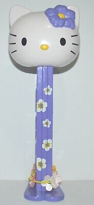 Sanrio 2008 Hello Kitty Pez Dispenser Purple Big Large 29cm