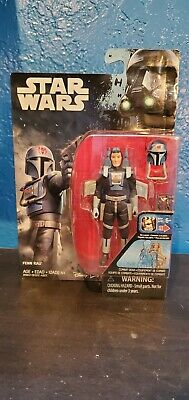 "Fenn Rau Rebels Star Wars cartoon  MOC 3.75 inch /"" 3//4 Mando Mandalorian fett"