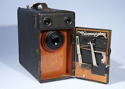 Early Antique Falling Plate Camera * c1902-1920 * Maybe Butcher Midg * Working