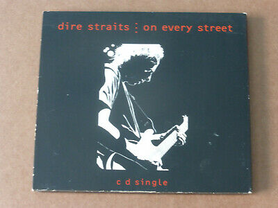 Dire Straits: On Every Street (Deleted 4 track CD Single in G/f Digipack Sleeve)