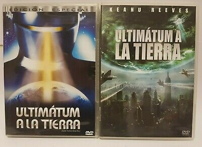 Pelicula Dvd Pack Ultimatum A La Tierra (Version Clasica + Version Moderna)