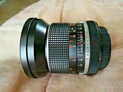 PANAGOR 28mm 2.5 Monture CANON FD