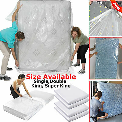 UK Super King Size Double Bed Mattress Bag Storage Cover Dust Protector