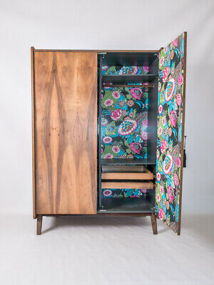 Very Elegant Vintage Retro Mid Century Modern Wardrobe From The 60'S