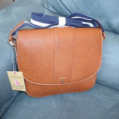 Joules Bridport Bright, X/Body Bag, Tan/Brown, Brand-New, Ideal Gift.