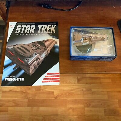 "Star Trek Official Starships Magazine #101 ""Bajoran Freighter"" Eaglemoss"