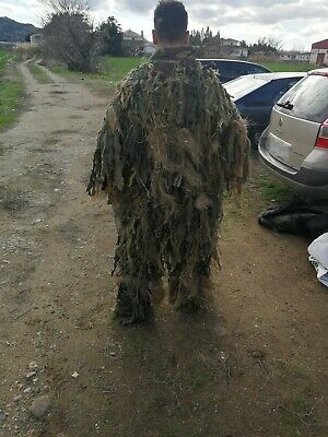 Ghillie suit hecho a mano