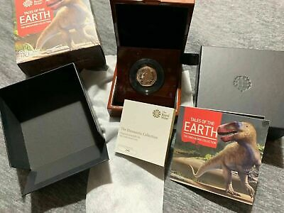 2020 Megalosaurus Dinosaur Gold  & Silver Proof 50p Fifty Pence