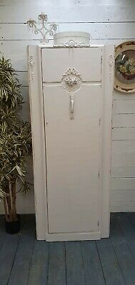 Vintage Painted Single French Style Wardrobe Shabby Chic CAN ARRANGE COURIER