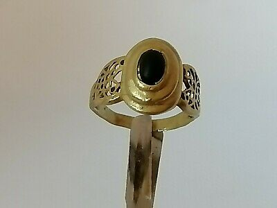 Extremely Ancient Roman Bronze Ring Rare Authentic Antique Artifact Beautiful